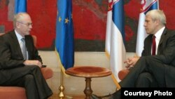 Herman van Rompej i Boris Tadić Foto: Kabinet predsednika Srbije