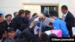 Үрүмчүдөгү Казакстандын паспорттук-виза кызматы