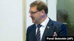 Russiýanyň Federasiýa Geňeşiniň halkara meseleler boýunça komitetiniň başlygy Konstantin Kosaçýow