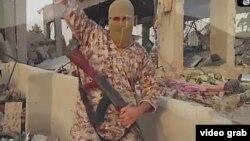 İŞİD-in İranı hədələyən videosundan kadr