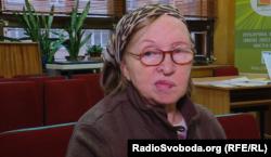 Раїса Олександрівна, слухачка комп'ютерних курсів