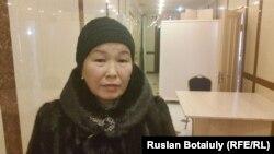 Гульнар Ахметова, жительница села Оразак Целиноградского района Акмолинской области. 8 января 2016 года.