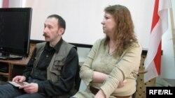 Віктар Корзун і Кася Камоцкая