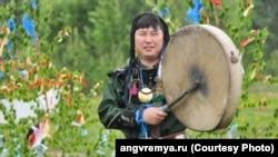 Заместитель Верховного шамана России Артур Цыбиков