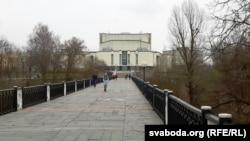 Фантан перанясуць на пляцоўку перад уваходам у канцэртную залю «Віцебск»