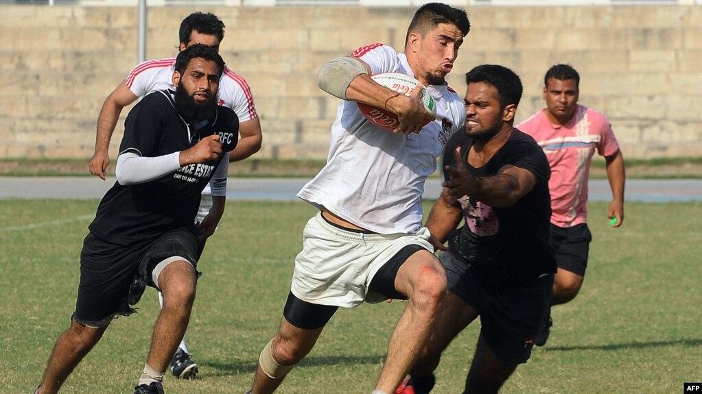 Mustafa Sadat Center Plays In A Rugby Tournament La Stan October
