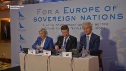 Reuniunea liderilor europeni de extremă dreapta de la Praga