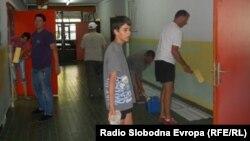 Кречење во основното училиште Св. Климент Охридски во Охрид.