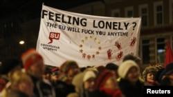 В 2012 году в центре Осло прошел митинг протеста против присуждения Евросоюзу Нобелевской премии мира.