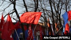 "Protest comunist ""anti-summit"" la Chișinău"