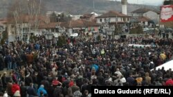 Protestna šetnja u Novom Pazaru