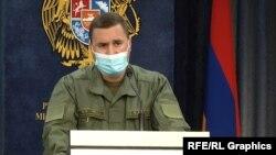 Заместитель министра обороны Армении Габриэл Балаян