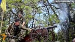 Самооборонівці на запорізькому блокпосту готові застосувати проти сепаратистів козацькі гармати