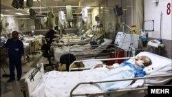 یک بیمارستان در اراک، ایران