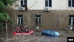 Vërshimet në Tbilisi të Gjeorgjisë