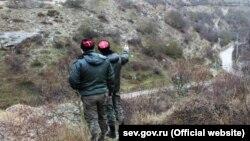 Севастопольские казаки круглосуточно патрулируют территорию Килен-балки