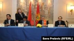 Potpisivanje sporazuma i ugovora, Podgorica, 26. februar 2014.