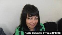 """Лидија Михајловска, директорка во средното училиште """"Наце Буѓони"""" од Куманово.manovo."""