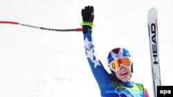 Американская горнолыжница Линдси Вонн - олимпийская чемпионка Ванкувера
