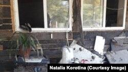 Дом Натальи Коротиной сильно пострадал из-за аномальных ливней