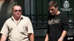 Подозреваемые, задержанные испанской полицией.