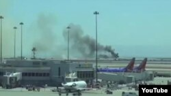 US-- Asiana Boeing 777 aircraft crash landed at San Francisco International Airport on Saturday 6 Jul 2013