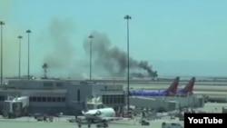 US-- Asiana Boeing 777 aircraft crash landed at San Francisco International Airport on Saturday 6 Jul 2013