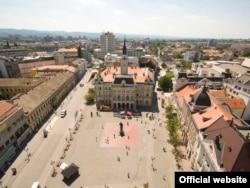Нови-Сад: городской центр