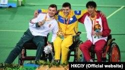 Паралімпійський чемпіон Андрій Демчук із суперниками