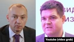 Олександр Луканов (л) і Ярослав Порохняк