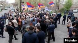 ՀԽ ակցիան Երևանում, 8-ը ապրիլի, 2015թ.