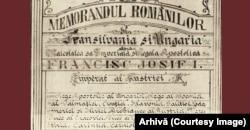 Memorandumul românilor transilvăneni din 1892.