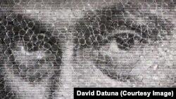 """Фрагмент картины """"Путин – Мона Лиза"""" Дэвида Датуны"""