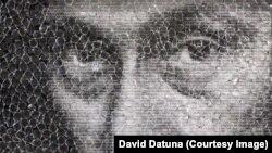 """Putin - Mona Liza"", delo Davida Datune"