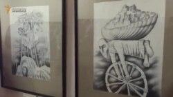 Персональная выставка крымскотатарского художника (видео)
