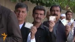 Kabul Voters Queue To Participate In 'Historic' Election