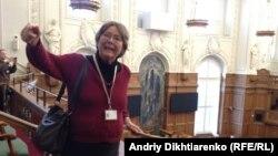 Ганне Северінсен у парламенті Данії
