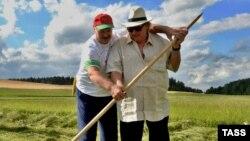 Лукашенко с Жераром Депардье