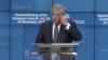 Prședintele Parlamentului European Antonio Tajani, Bruxelles, 25 noiembrie 2018.