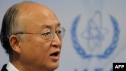 "The resolution calls for IAEA Director-General Yukio Amano to report to the board in March on Iran's ""implementation of this resolution."""