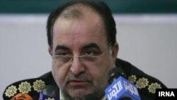 Police chief of western Tehran Province Mohsen Khancherli. FILE photo