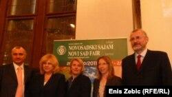 Hrvatska gospodarska komora predstavljanje Novosadskog sajma u Zagrebu, 02. februar 2011.