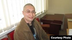 Юрист Евгений Танков после ареста. Караганда, 7 апреля 2014 года. Фото из архива семьи Танковых.