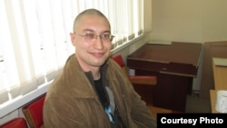 Қарағандылық заңгер Евгений Танков. 7 сәуір 2014 жыл.