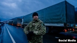 Блокада російських вантажівок у Закарпатті, 11 лютого 2016 року