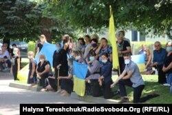 Прощання з Тарасом Матвіївим, Жидачів, 15 липня 2020 року