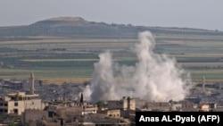 حملات نیروهای دولتی به خان شیخون در ادلب در هفته گذشته.