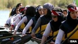 تیم ملی قایقرانی دراگون بوت ایران. عکس تزئینی است.