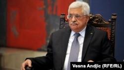 محمود عباس، رهبر تشکیلات خودگردان فلسطینی