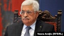 Presidenti palestinez, Mahmoud Abbas.